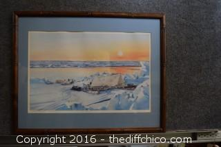 Lithograph Signed & Numbered 130/450