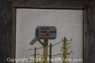 Framed Needlepoint