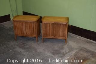 Pair of Martinville Night Stands