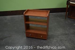 Shelf Unit w/Drawer-Needs Backboard