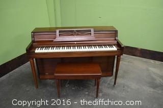 Wurlitzer Piano w/Stool