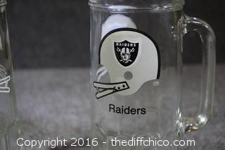 49er & Raiders Mugs