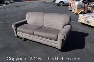 86in Long Flexsteel Couch-matches #216 Chair