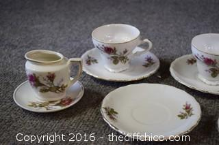 10 Pieces of Tea Set