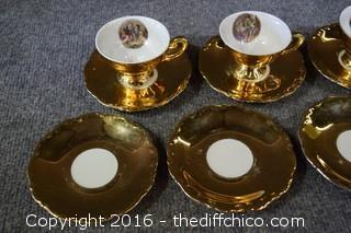 German Cup & Saucers