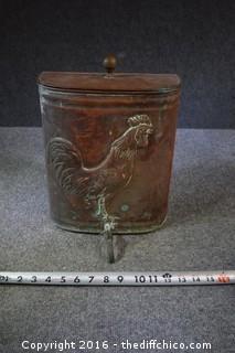 Vintage Copper Dispenser