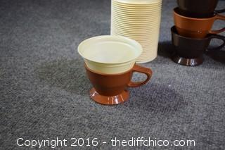 Vintage Cozy Cup Holders & Cups