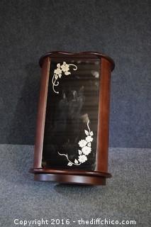 Swivel Jewelry Box w/Drawers & Mirror