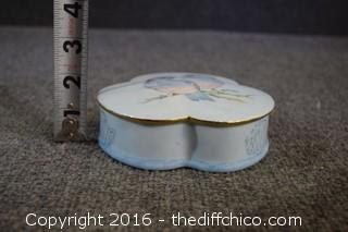 Hand-Painted & signed Dresser Limoges Box