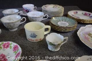 Mixed Lot of Porcelain
