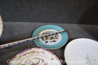 Lot of Mixed Plates
