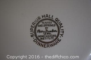 Jewel Tea Plate by Hall
