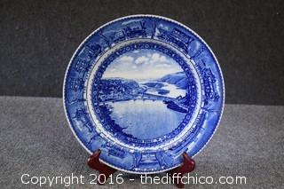 Baltimore & Ohio Lamberton China Plate