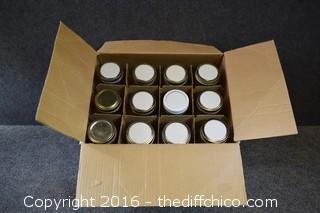 12 Quart Canning Jars
