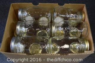 18 Quart Canning Jars