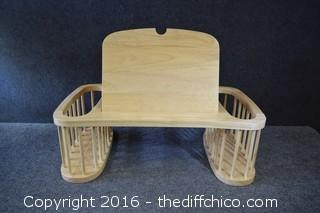 Wooded Lap Tray