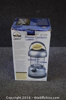 NIB LED Power Lantern