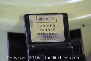 Sears Presto Pressure Cooker Canner