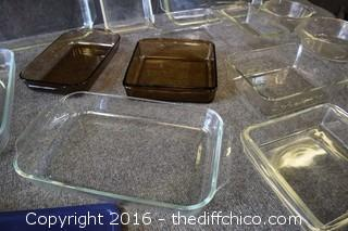 Pyrex Baking  Dishes & More