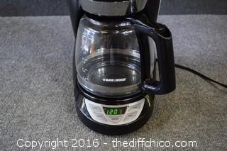 Working Black & Decker Coffee Pot