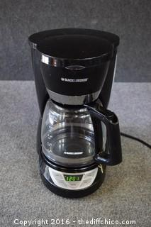 Working Black & Decker Coffee Pot