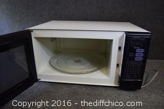 Working Sanyo Microwave