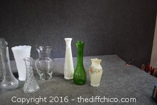 Lot of Vases