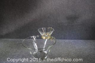 Vintage Chip & Dip Set