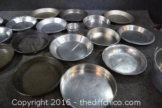 Cake & Pie Baking Tins