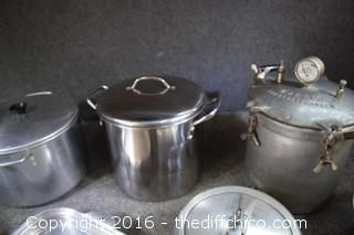 Pressure Cooker, Pots & More