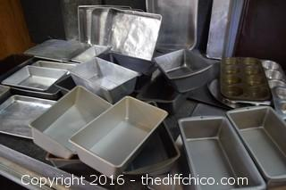 Cookie Sheets, Bread Pans & More