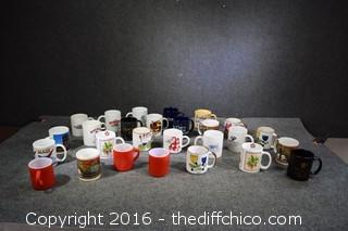Lot of Coffee Mugs