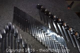 81 Pieces of Flatware
