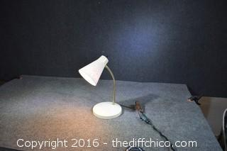 Working Vintage Desk Lamp