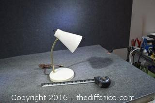 Working Vintage Desk Lamp