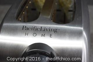 Working Pacific Living Home Toaster