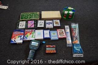 Cards, Games & More