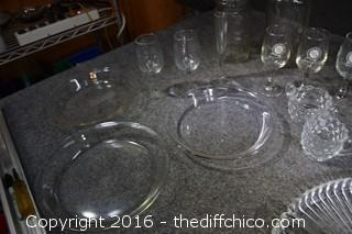 Mixed Glass Lot