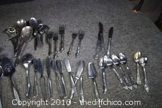 Mixed Lot of Flatware