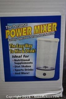 The Personal Power Mixer-NIB