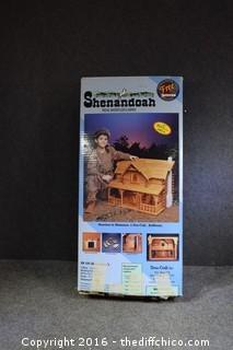 Shenandoah Log Cabin-Box Open-As is