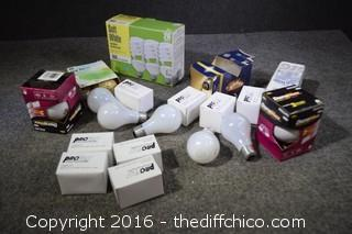 Lot of Light Bulbs