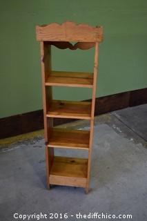 Pine Shelf Unit
