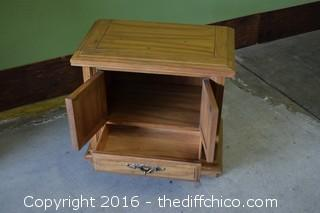 Pecan Tierra Night Stand by Kent Coffey