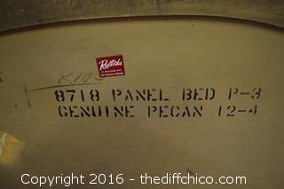 Pecan Tierra Headboard by Kent Coffey