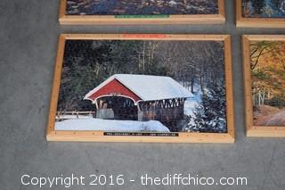 4 Framed Puzzles