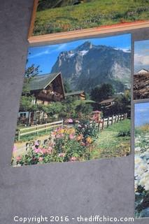 2 Framed Puzzles & 6 Smaller Unframed Puzzles