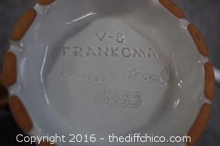 Frankoma Decanter