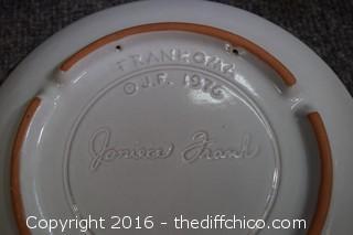 12 Frankoma Plates
