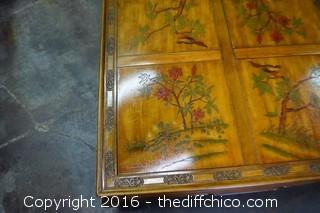 Oriental Style Coffee Table